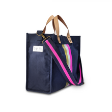 Load image into Gallery viewer, Navy, TOTE-ALLY!