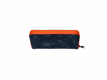 Load image into Gallery viewer, GLO girl wallet- Navy/Neon Orange