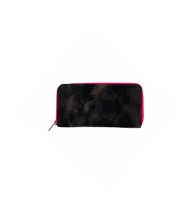 GLO girl wallet- Black/Neon Pink (PRE-SALE)
