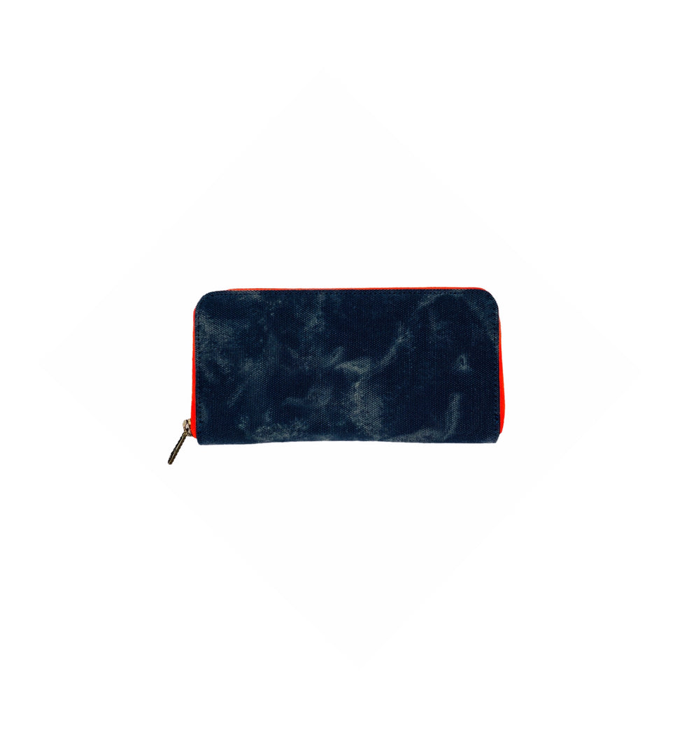 GLO girl wallet- Navy/Neon Orange (PRE-SALE)