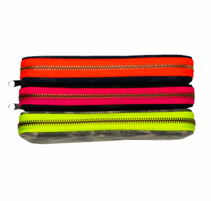 GLO girl wallet- Navy/Neon Orange
