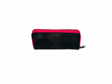 Load image into Gallery viewer, GLO girl wallet- Black/Neon Pink (PRE-SALE)