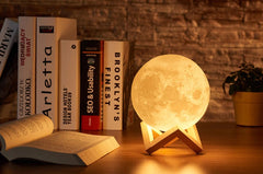 LED Moon Lamp & Kids Tabletop Night Lamp - OrbitSuperDeals