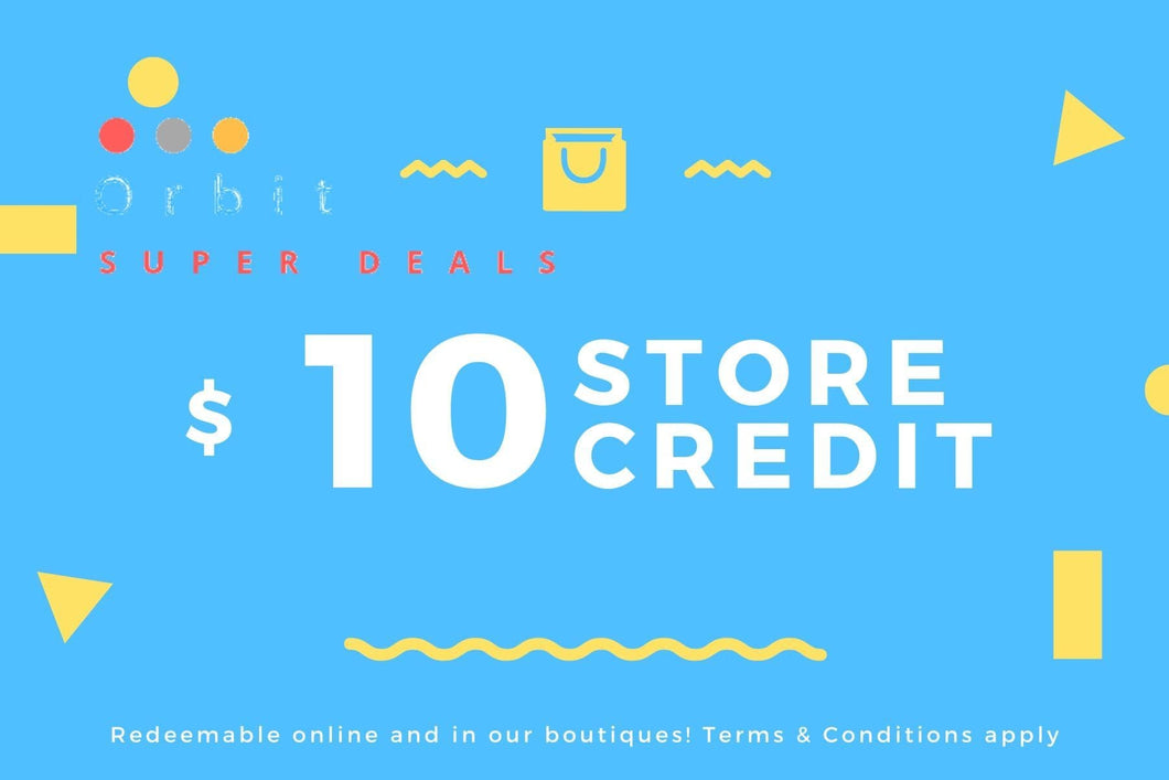Gift Card 10 - Orbit Super Deals