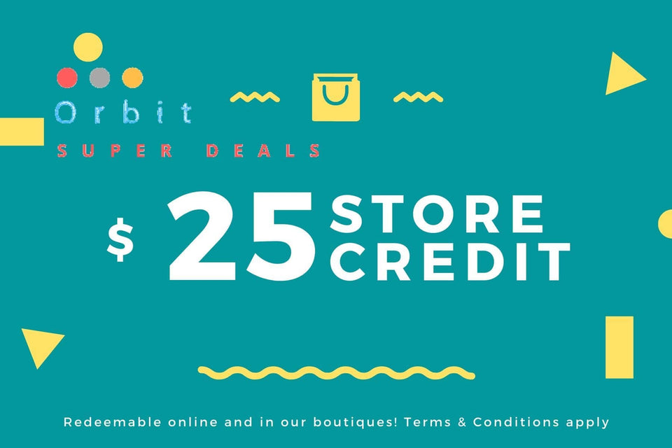 Gift Card 25 - Orbit Super Deals