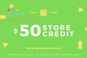 Gift Card 50 - Orbit Super Deals