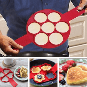 Nonstick Easy Pancake Molds - OrbitSuperDeals