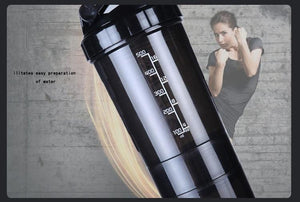 Portable Protein Shakes Fitness Bottle - OrbitSuperDeals
