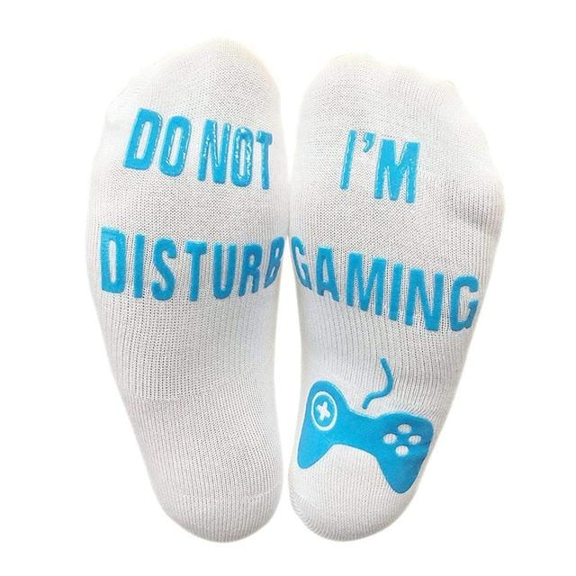Unisex Novelty Socks Gaming Funny 3d Printed - OrbitSuperDeals