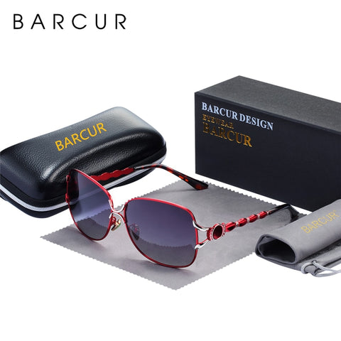 BARCUR  Fashion Women Polarized Sunglasses