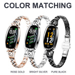 H&A H8 Fitness Bracelet Sport Smart Watch 2019 Waterproof Heart Rate Monitoring Bluetooth For iOS Android Smartwatch Women Gift - ShopyMart