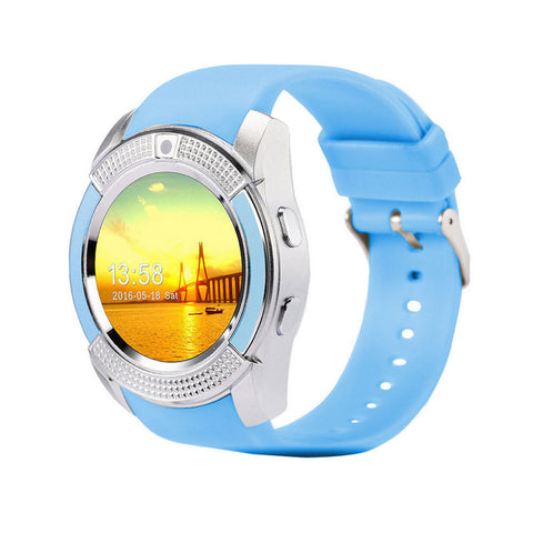 SmartWatch Bluetooth Smartwatch Touch Screen Wrist Watch with Camera/SIM Card