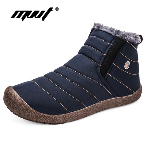 Super Warm Winter Fashion Men Shoes