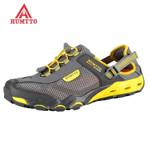 new arrival outdoor hiking shoes sapatilhas mulher trekking men randonnee scarpe uomo women wading upstream breathable mesh - ShopyMart