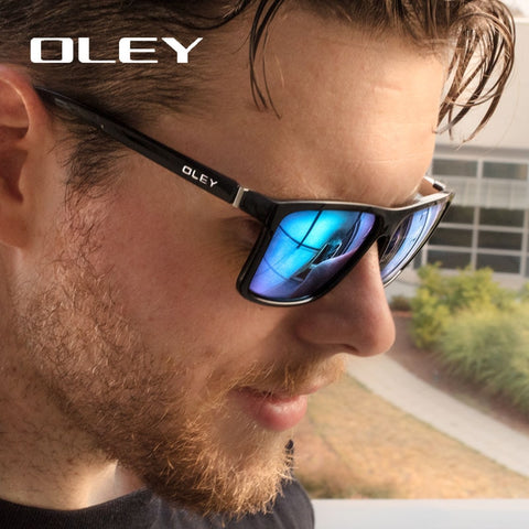 OLEY Brand Vintage Style Sunglasses Men Classic Male Square Glasses Driving Travel Eyewear Unisex Gafas Oculos UV400 Y6625 - ShopyMart