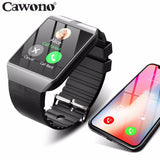 Bluetooth Smart Watch Smartwatch DZ09 Android Phone Call Relogio 2G GSM SIM