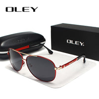 OLEY Brand Sunglasses Men Polarized Fashion Classic Pilot Sun Glasses Fishing Driving Goggles Shades For Men/Wome Y7005 - ShopyMart