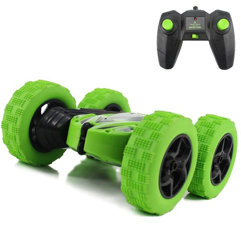 Hugine RC Car 2.4G 4CH Stunt Drift Deformation Buggy Car Rock Crawler Roll Car 360 Degree Flip Kids Robot RC Cars Toys for Gifts - ShopyMart