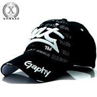 Xthree wholesale snapback hats baseball cap hats hip hop fitted cheap hats for men women gorras curved brim hats Damage cap