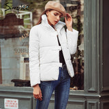 Turndown Collar Women's Winter Coat