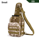 Tactical bag Molle Fishing Hiking Backpacks Hunting Bags Sports Chest Sling Shoulder Backpack Military Army Mochila Tas XA598WA - ShopyMart