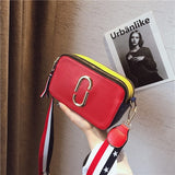 luxury clutch strap small female bags shoulder messenger bag womens famous brand handbag woman for bags 2018 crossbody red black - ShopyMart