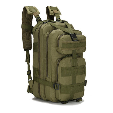 Hot 8 Color 20L-25L Unisex Travel Rucksack Camping Hiking Trekking Camouflage Bag Outdoor Military Army Tactical Backpack - ShopyMart