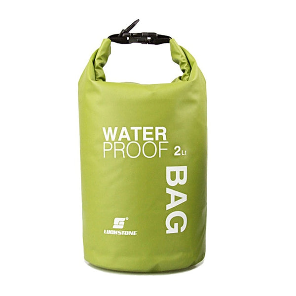 Newest Style Waterproof Bag Storage Dry Bag For Outdoor Canoe Kayak Rafting Camping Climbing Hike 4 Colors Portable 2L - ShopyMart
