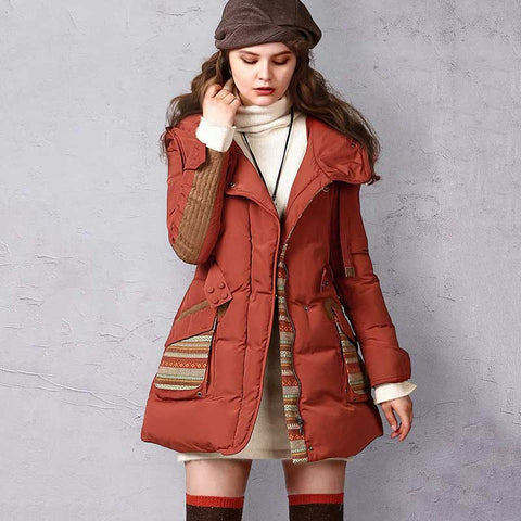ARTKA Winter Jacket For Women Duck Down Coat