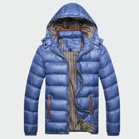 Winter Men's Coats Warm Thick Male Jackets
