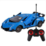 Upgrade version Super Racing Car door open Rc Speed Radio Remote Control Sports Car 1:24 Motor Xmas Gift Kid toy - ShopyMart