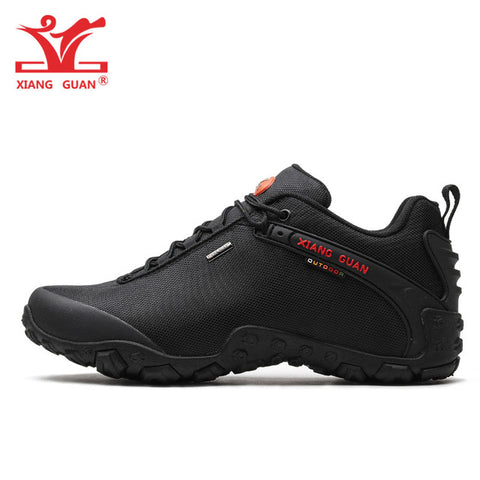 XIANG GUAN Woman Hiking Shoes Women Red Trekking Boots Outdoor Sports Climbing Mountain Camping Hunting Jogging Walking Sneakers - ShopyMart