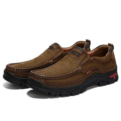 High Quality Waterproof Shoes Leather Shoes Male Plus Size 38-48