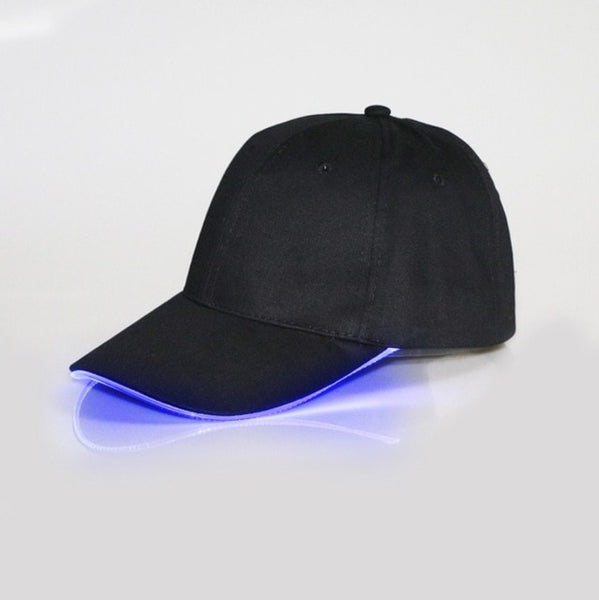 Men LED Lights Fishing Hat Outdoor Women Men - ShopyMart
