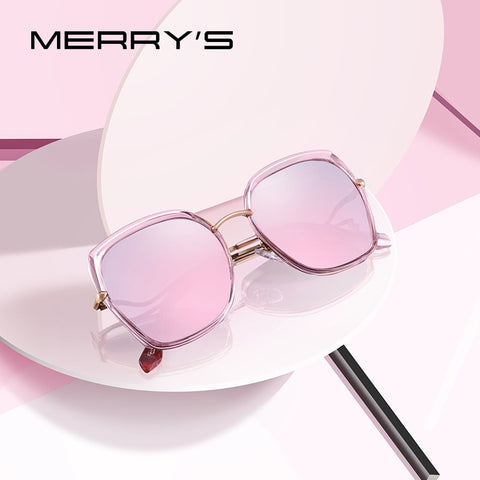 MERRYS DESIGN Women Fashion Cat Eye Polarized Sunglasses Ladies Luxury Brand Trending Sun glasses UV400 Protection S6238 - ShopyMart