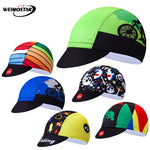 Weimostar Multicolor Cycling Cap Sports Breathable Bike Helmet Hat bandana men Summer Team Bicycle Caps Sun UV Cycling Headband - ShopyMart