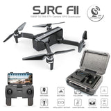 SJRC F11 GPS Drone With Wifi FPV 1080P Camera Brushless Quadcopter 25 minutes Flight Time Gesture Control Foldable Dron Vs SG906 - ShopyMart