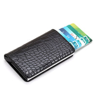 Anti-Theft Aluminium Automatic Credit Card Holders