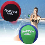 TPR Water Bouncing Ball Bounce Water Surf Ball Water Skimming Jumper Ball Ocean Pool Beach Sports Toys Fidget Stress Relief Ball - ShopyMart