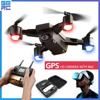 SMRC S20 wifi drone quadrocopter HD Camera with GPS FOLLOW ME FPV RC Quadcopter FPV follow me x pro fpv racing Dron  Helicopter - ShopyMart