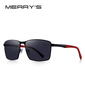 MERRYS DESIGN Men Classic Rectangle Sunglasses HD Polarized Sun glasses For Driving TR90 Legs UV400 Protection S8380 - ShopyMart