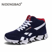 NIDENGBAO New Style Men Running Shoes Outdoor Jogging Training Shoes Sports Sneakers Men Keep Warm Winter Snow Shoes For Running - ShopyMart