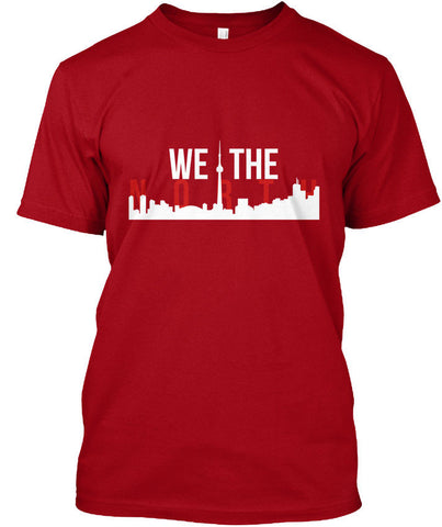 We The North Toronto Skyline popular Tagless Tee T-ShirtHigh Quality Custom Printed - ShopyMart
