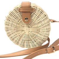 Square Round Mulit Style Straw Bag Handbags Women Summer Rattan Bag Handmade Woven Beach Circle Bohemia Handbag New Fashion - ShopyMart