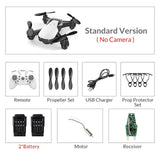 Eachine E61/E61hw Mini Drone With/Without HD Camera Hight Hold Mode RC Quadcopter RTF WiFi FPV Foldable RC Drone - ShopyMart