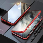 Newest Magnetic Case For Iphone XS MAX X 7 8 Plus Coque Metal Phone Cover Double Side Tempered Glass 360 Funda Cases Fundas Capa - ShopyMart