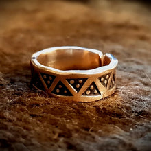 Load image into Gallery viewer, Viking Bronze Ring
