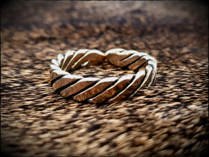 Viking Twisted Ring