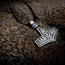 Load image into Gallery viewer, Mjolnir Thor's Hammer Pewter