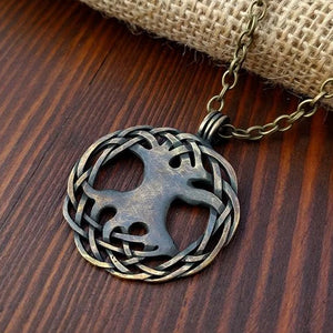 Viking Norse Yggdrasil Tree of Life Pendant Necklace